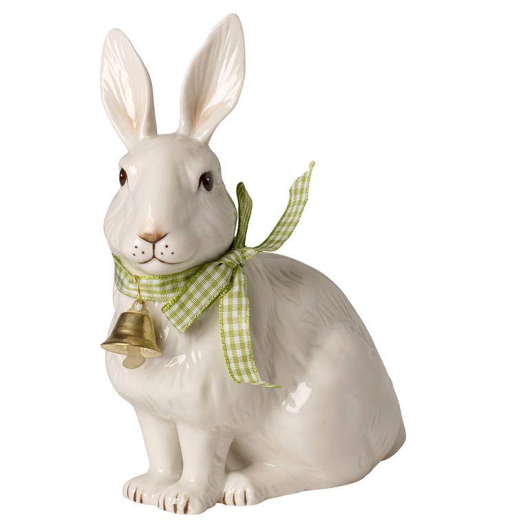 Villeroy Boch Easter Decoration Hase Sitzend Mit Glockchen