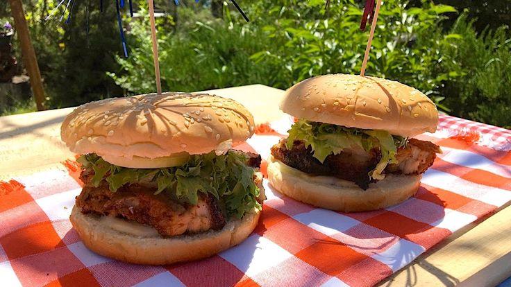 Amazing crispy pork belly burger recipe