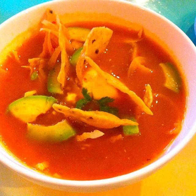 レシピとお料理がひらめくSnapDish - 9件のもぐもぐ - Sopa Azteca (Tortilla soup) by Jorge Bernal Márquez