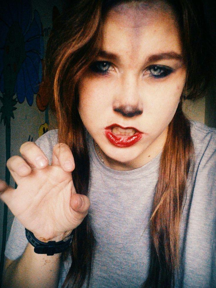 Grrrr. I'm not cute, I'll bite you....😉