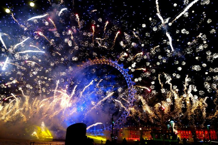 New Years fireworks in London - The Londoner