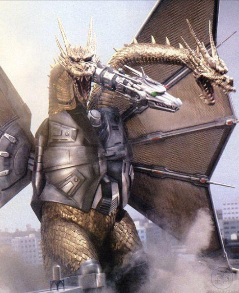Mecha-King Ghidorah.  He was one of my favorites in the games.