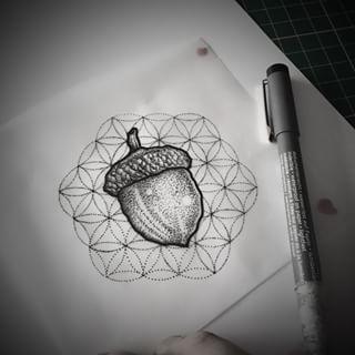 acorn tattoo - Google Search