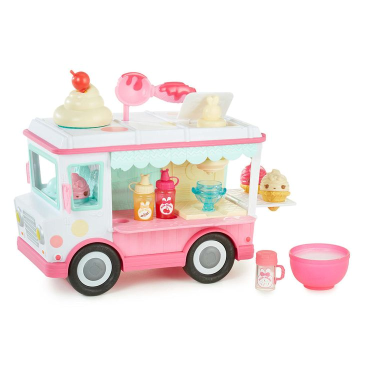 Num Noms Lip Gloss Truck™ is lip-smacking fun! Mix your own flavored…