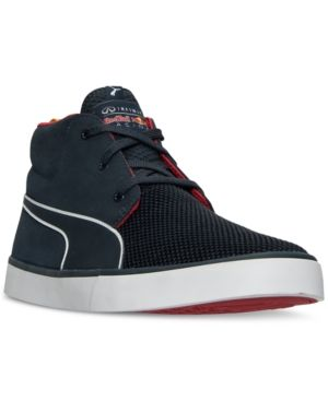 Puma Men's Red Bull Racing Desert Boot Vulc Casual Sneakers from Finish Line - Blue 9.5