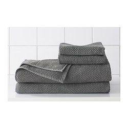 FRÄJEN Badhandduk, grå - grå - 70x140 cm - IKEA