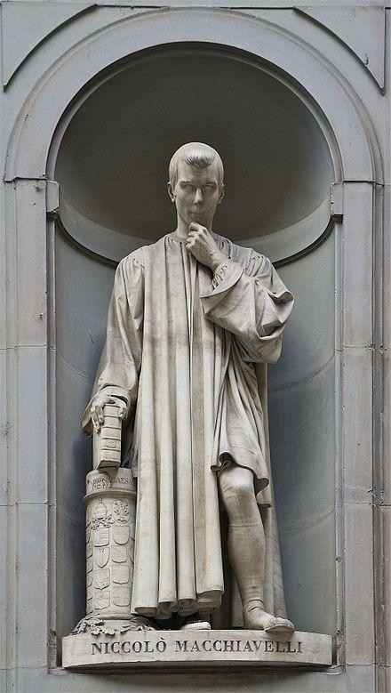 Niccolò Machiavelli – Wikipedie