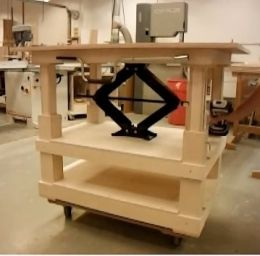 Amazing Wood Work Adjustable Height Woodworking Bench PDF Plans