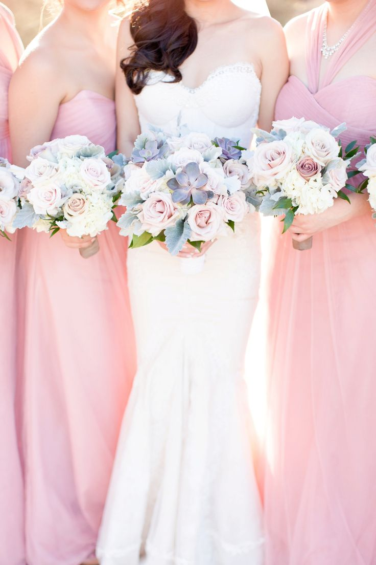 234 best aj bridesmaids images on pinterest floral bouquets blush and navy four seasons troon north wedding ombrellifo Gallery