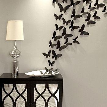 40-pc. Butterflies Wall Decor Set