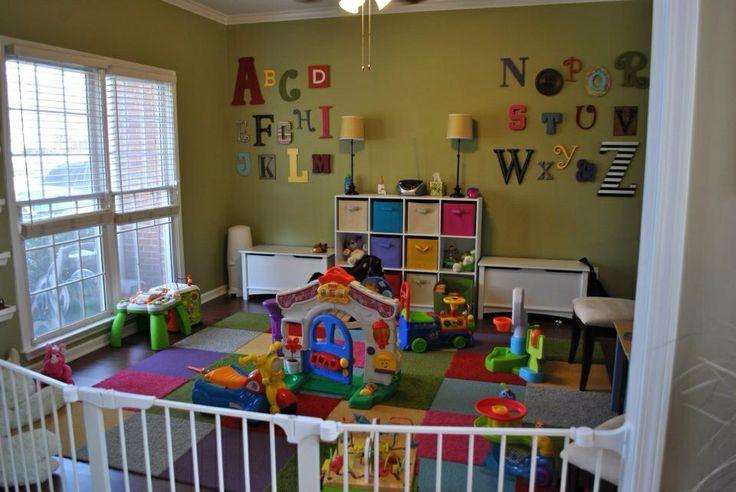 Abc Playroom Wall Art Playroom Ideas Pinterest