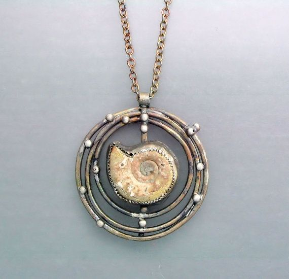 Fossil in a Cage 4 by Temi on Etsy, $150.00