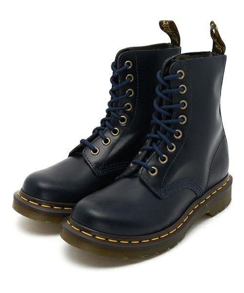 【セール】Dr.Martens ドクターマーチン 1460 PASCAL 8EYE BOOT パスカル 8ホールブーツ 13512204 DRESS BLUE(ブーツ)|Dr.Martens(ドクターマーチン)のファッション通販 - ZOZOTOWN