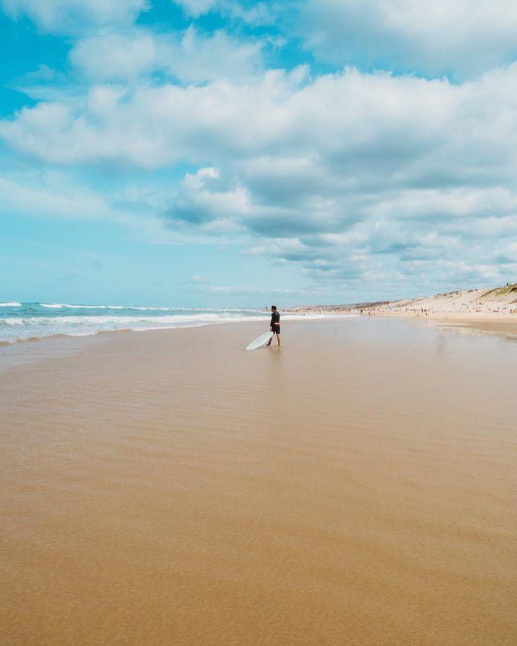 """130 mentions J'aime, 3 commentaires - DEFTOM (@deftom_filmaker) sur Instagram: """"Looks at the waves 🏄🏻 • #surf #beach #surfer #biscarosse #ocean #waves #morning #tuesday #sport"""""""