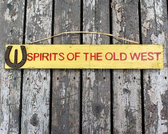 Handmade Wood Sign Vintage Cowboy Country Western Decor Etsy Handmade Wood Signs Barn Dance Decorations Country Western Decor