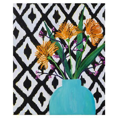 Lienzo Flower Still Life de Mariska Meijers, 50x60cm