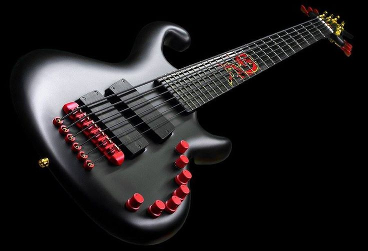 The Red Dragon. Jens Ritter Instruments made for Phil Lesh.