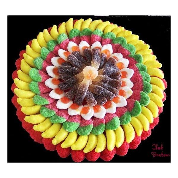 1000 id es sur le th me bouquet de bonbon sur pinterest bouquet de bonbons portes ouvertes - Gateau en bonbon ...
