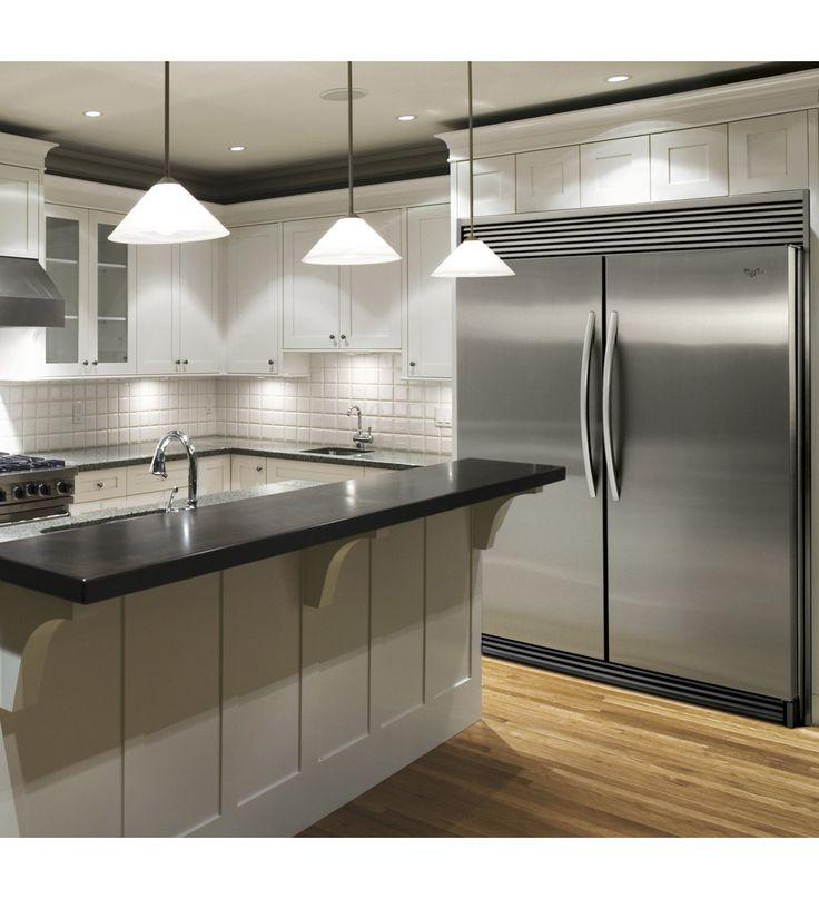 Whirlpool® Sidekicks® 18 cu. ft. All-Refrigerator with Adjustable Door Bins