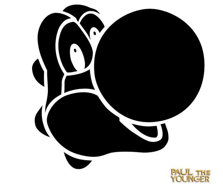 14  Super Mario Pumpkin Stencil Printable   Pokemon Stencil