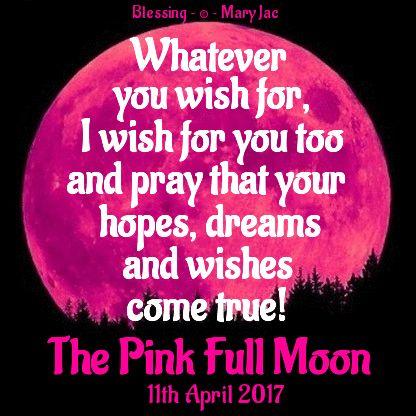 Full Moon Wishing - Full Moon Dates 2017 - Wishing Prayer