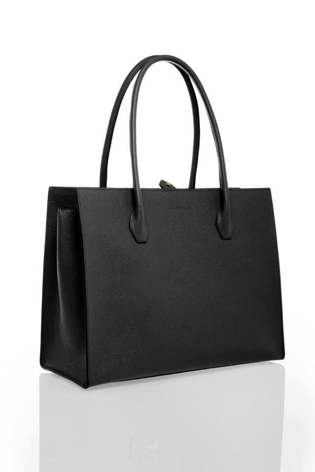 Dara Onyx Black www.akichoklat.com | Aki Choklat | #luxurybag #businessbag