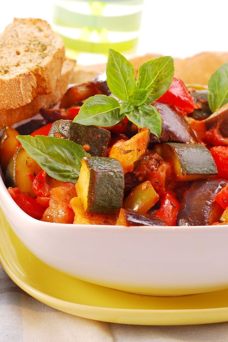 kitchen boss eggplant caponata%0A Weight Watchers Ratatouille in the Crock Pot Recipe    Smart Points