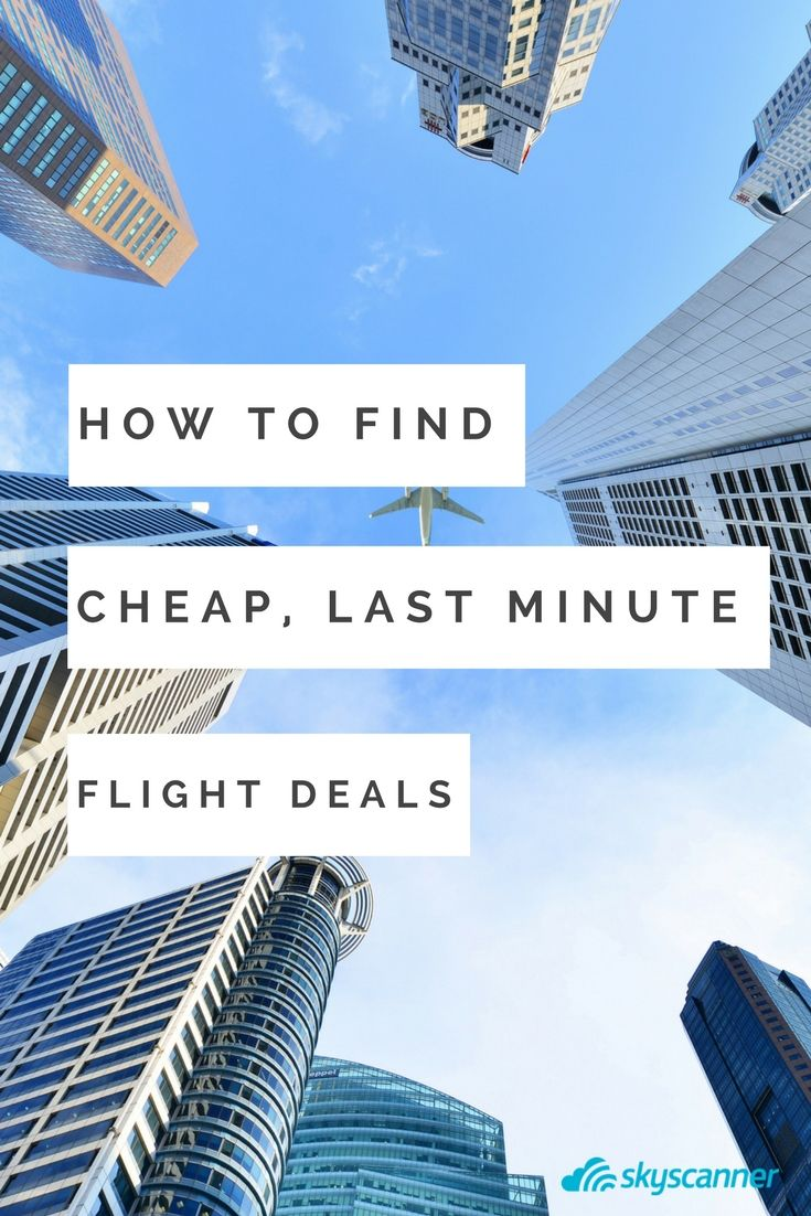Last minute events pop up all the time, but it can be hard to prepare on a moment's notice. Especially when it's for very last minute flights. If you need be across the country quick, or around the world in a blink, Skyscanner has you covered. Just follow our handy guide.