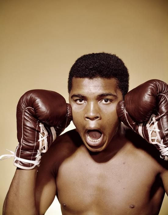 Muhammad Ali.  He turned his 'clowning' into big box office whenever he was in the ring.
