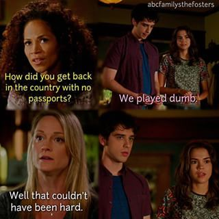 3x05 The Fosters. | OMG Steph XD • pinterest - @ninabubblygum •