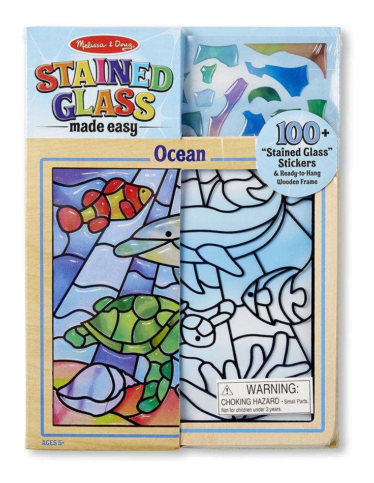Peel & Press Stained Glass Ocean  #entropywishlist #pintowin  Craft is fun but cleaning up after isn't so this gift will keep missy and mummy happy!