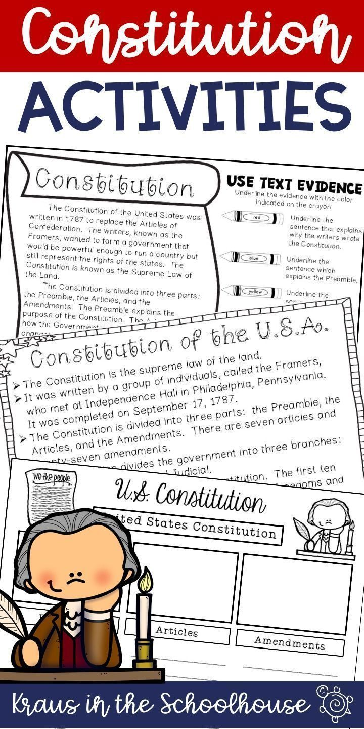 Constitution Day Activities Easel Activity Distance Learning Constitution Activities Constitution Day History Teacher Classroom [ 1440 x 720 Pixel ]