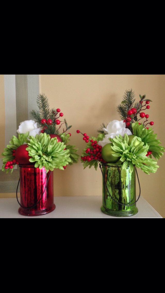 1000 Images About Holiday Decor Diy On Pinterest Red