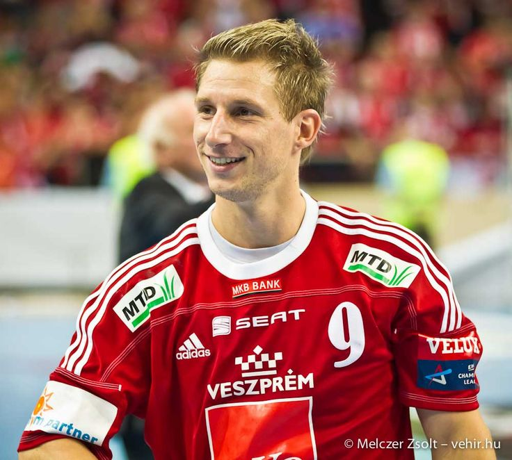 Élete egyik legjobb meccse után. 2018 októbere, győzelem a Kiel ellen.