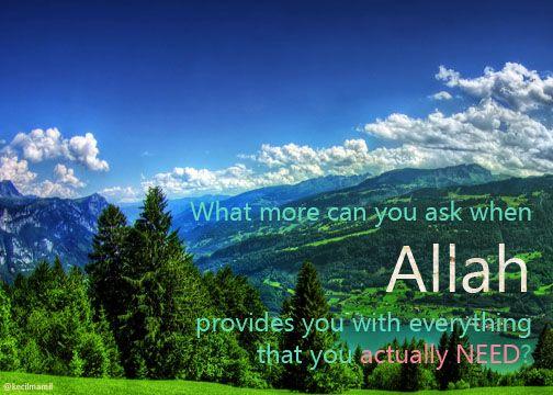 Say ALHAMDULILLAH!