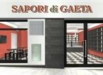 Sapori di Gaeta, a total concept by Padovani.  Sapori di Gaeta Ltd. is production, tasting and sale of typical products of the Gulf of Gaeta. Located in Rome in Via Carlo Porta 19, the center was designed entirely by Padovani Ltd.