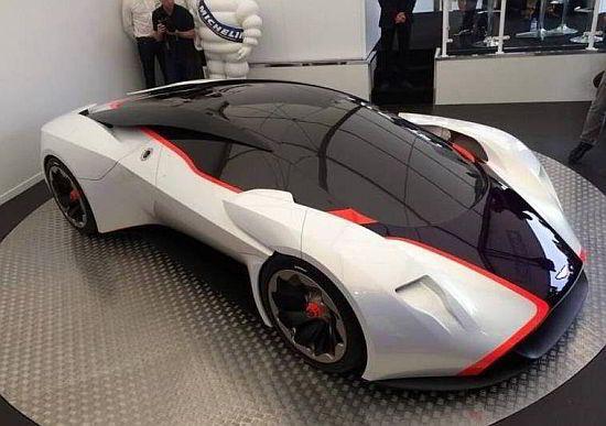 WEB LUXO - Carros de Luxo: Aston Martin apresenta versão real de superesportivo do Gran Turismo 6