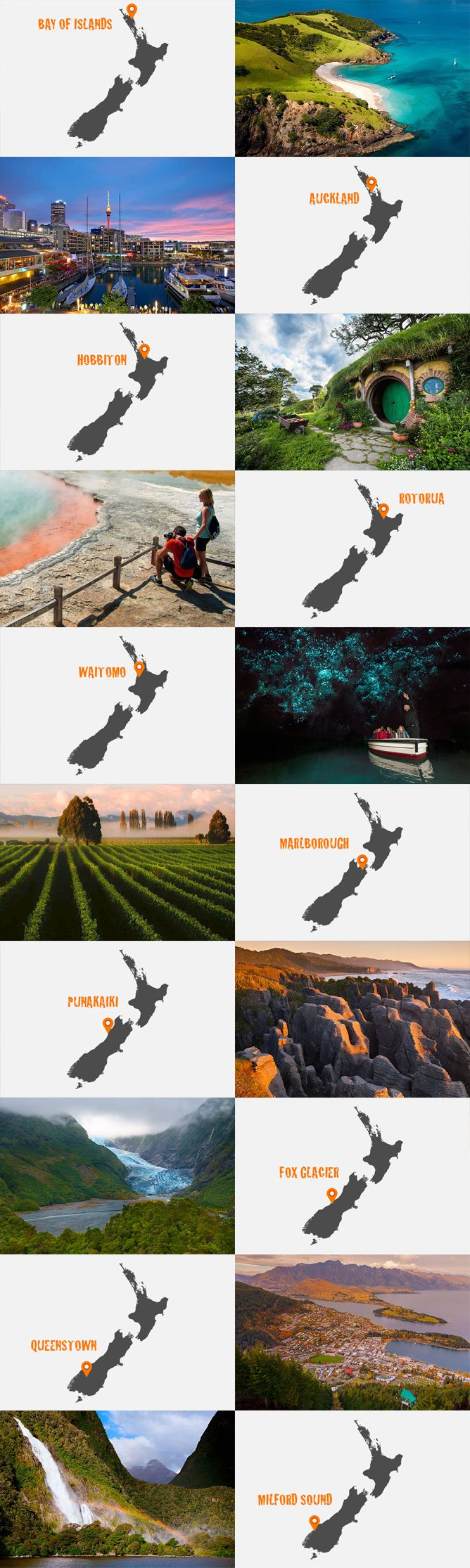 Top 10 Best Places To Visit In New Zealand - http://www.newzealandbyroad.com/top-10-best-places-to-visit-in-new-zealand/