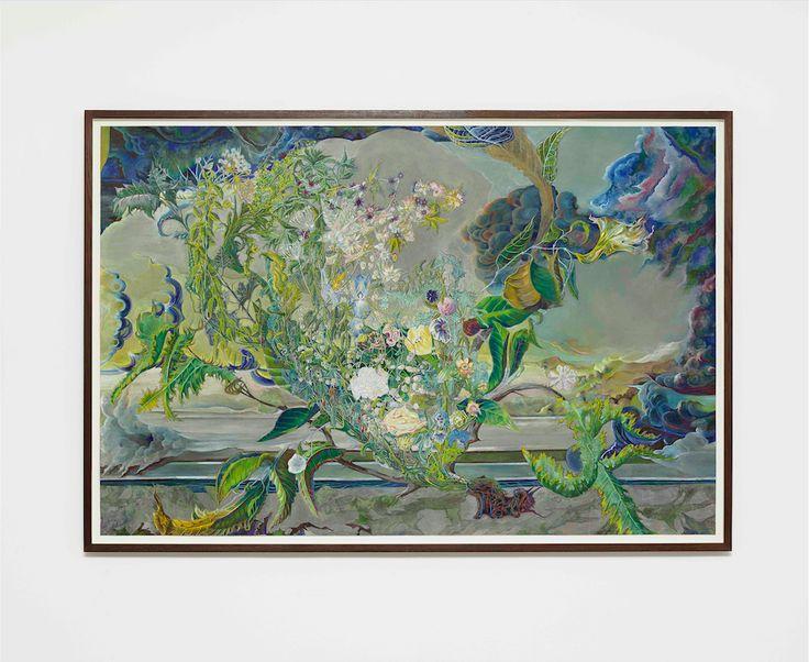Mikkel Olaf Eskildsen – ShorewalkerGouache på papir, 116 x 79 cm