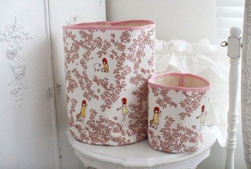 GainStory - [Haru Hana] Fabric Bucket Set for Heyci by HeyCi on Etsy