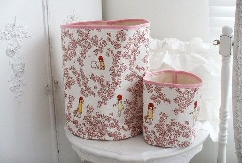 GainStory - [Haru Hana] Fabric Bucket Set for Heyci by HeyCi on Etsy