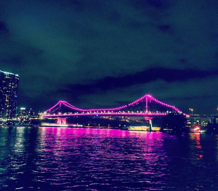 Brisbane by night #capturedonp10 #mobilephotography