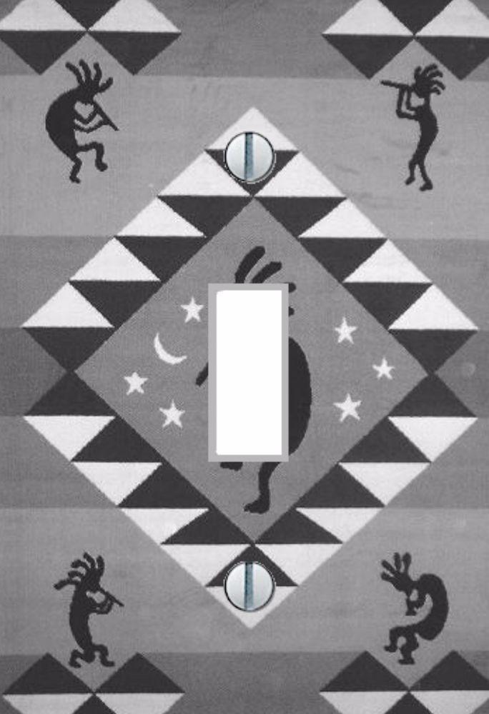 Light Switch Plate Cover Southwestern Decor Kokopelli ~ Home-Decor ~ Wall Art #Unbranded