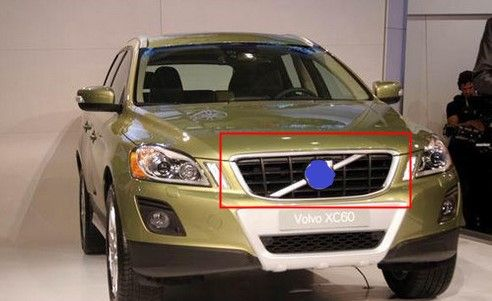 ABS Front Grille Around Trim Racing Grills Trim FIT for 2012-2013 VOLVO XC60 Car styling #Affiliate