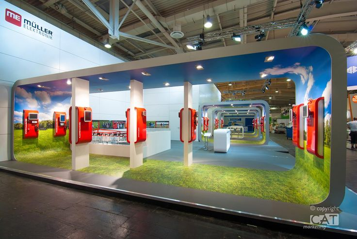 Exhibition stand flooring