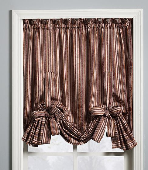 25 best ideas about tie up curtains on no sew