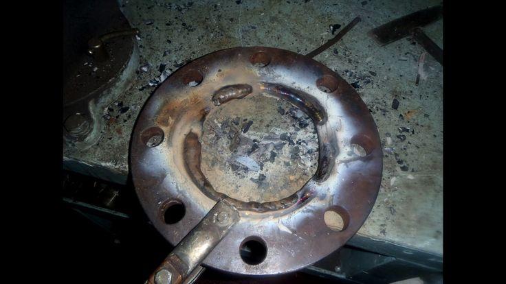 Ejector pump corrosion flange repair HD timelapse
