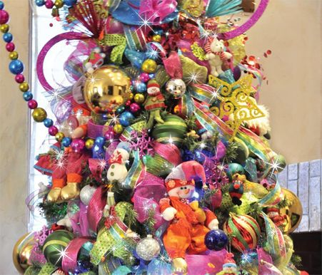 17 best images about accesorios on pinterest christmas - Decoracion de arboles de navidad ...