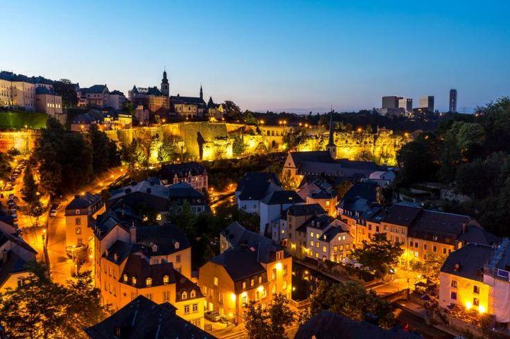 Estas son las 10 ciudades menos estresantes del mundo. Luxemburgo.