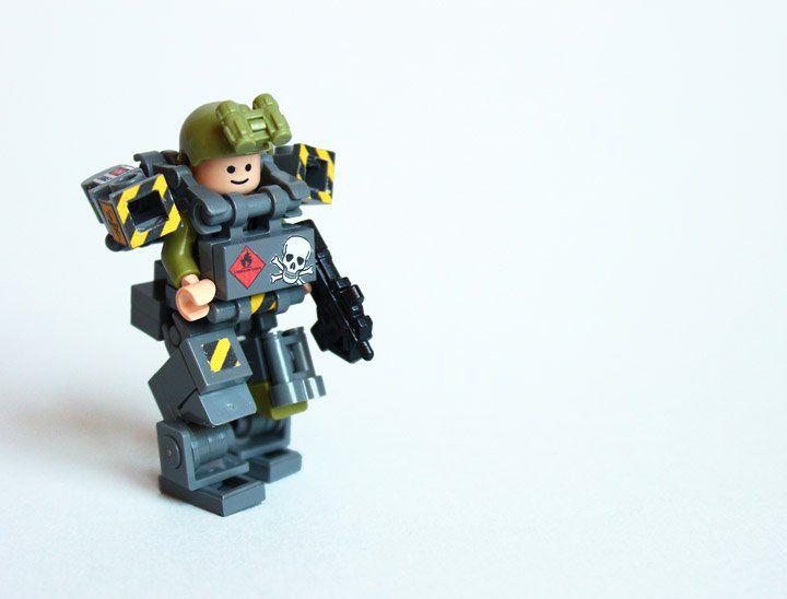 Devid VII's Lego Military Trooper X79